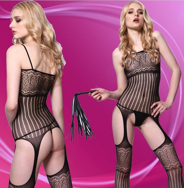 Body Net Ladystocking Moze - 8807