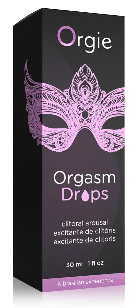 Gel Facilitador de Orgasmo - Orgasm Drops