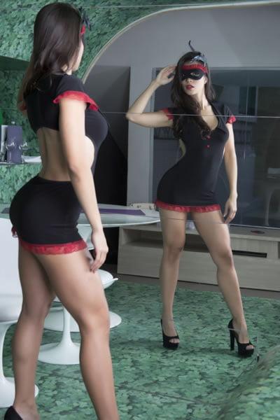Fantasia Melissa Garota Veneno