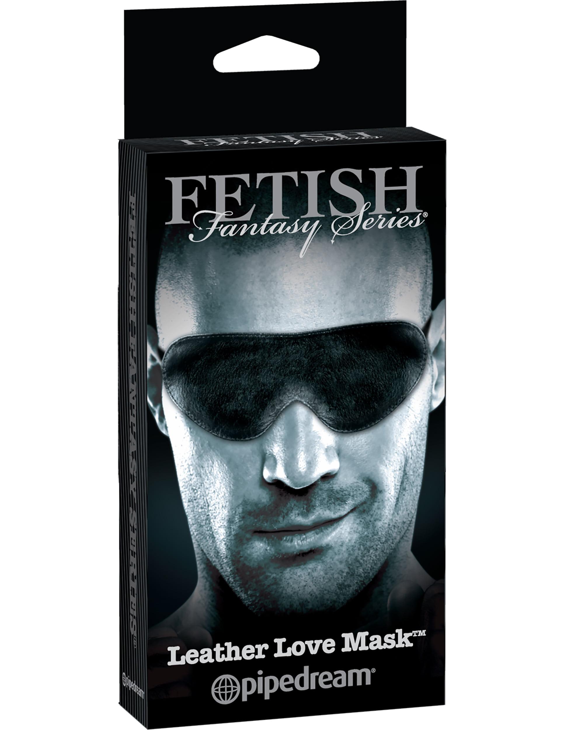 Venda em Pelúcia Leather Love Mask