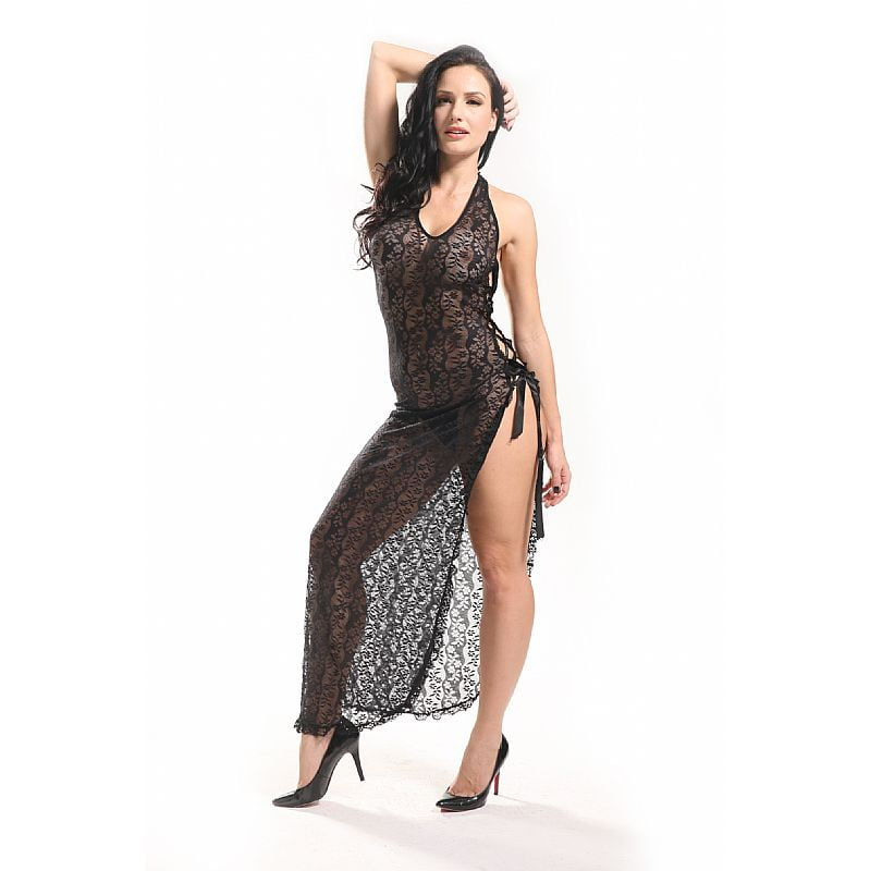 Bodystocking Vestido Rendado Vaqua 3514