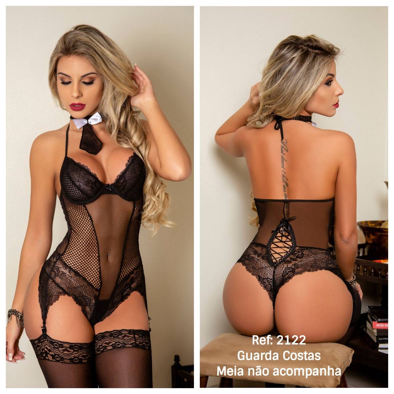Guarda Costas - Body C/ Gravata