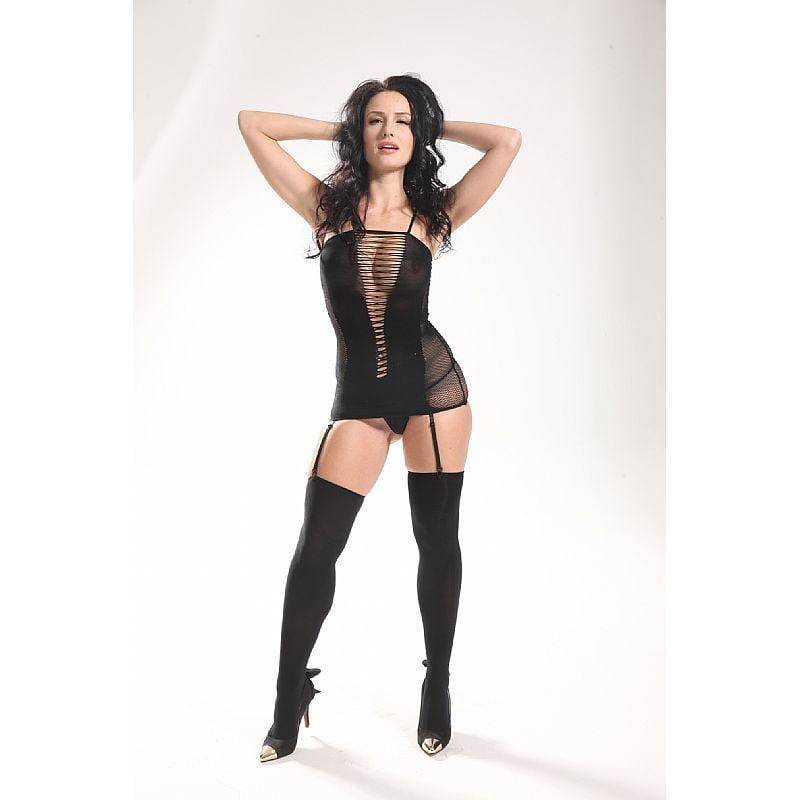 Body Vestido Rendado Vaqua