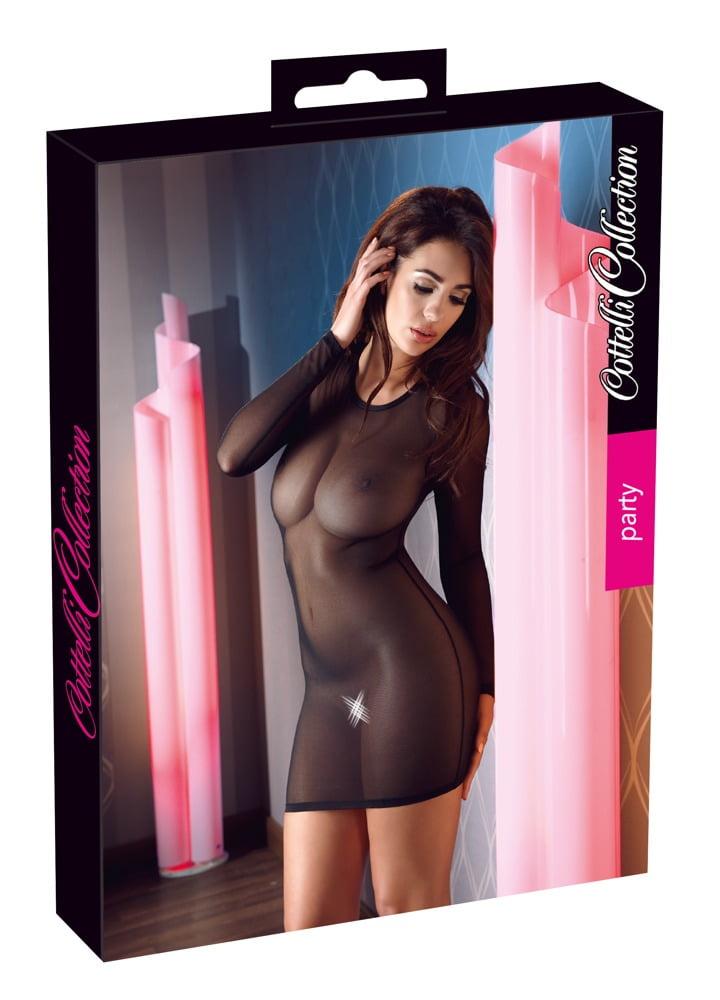 Vestido Transparente - Cottelli Collection