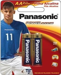 Pilha Comum Panasonic Super Power AA C/2