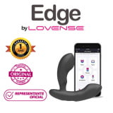 Vibrador Lovense EDGE - Duplo Estimulo  - Black Friday