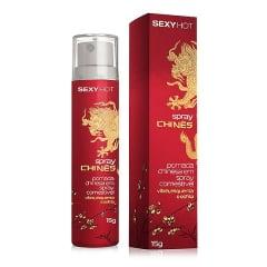 Gel Comestível Spray Chinês - Vibra, Esquenta e Esfria!