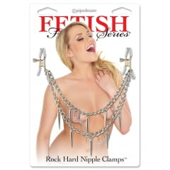 Estimulador de Mamilos Rock Hard Nipple Clamps