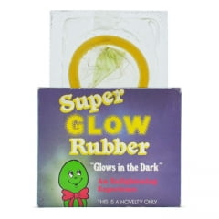 Preservativo que Brilha no Escuro - SUPER GLOW RUBBER