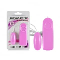 Bullet Vibrador Strong 10 Funções de Vibração.