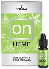 Hemp - Super Excitante de Clitóris - On for Her Hemp Infused Arousal Oil 5 ml - Sucesso de Vendas