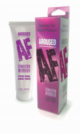 Lubrificante Sensibilizador Importado  Intensificador de Prazer - Aroused AF stimulation