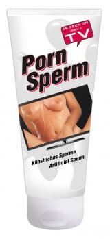 PORN SPERM - LUBRIFICANTE IDÊNTICO AO SÊMEN 250ML - Importado da Alemanha