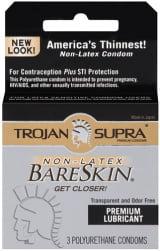 Preservativo Ultrafino  Sem Latex - Trojan BareSkin