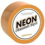 Fita Neon Pleasure Tape Laranja