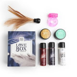 SEXY HOT LOVE BOX - SENSUAL KIT - COMPOSTO POR 7 ITENS