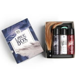 SEXY HOT LOVE BOX - SENSUAL KIT - COMPOSTO POR 7 ITENS