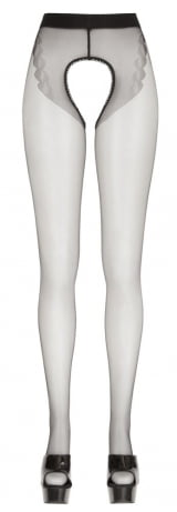 Meia-calça Fio 20 Vazada Ouvert das meias da coleção de Cottelli