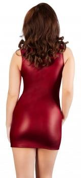 Vestido Com Zíper De Strass De Red Corner