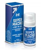 Super Macho - Gel Potencializador Masculino com o Poder do Azul - Viagra em Gel