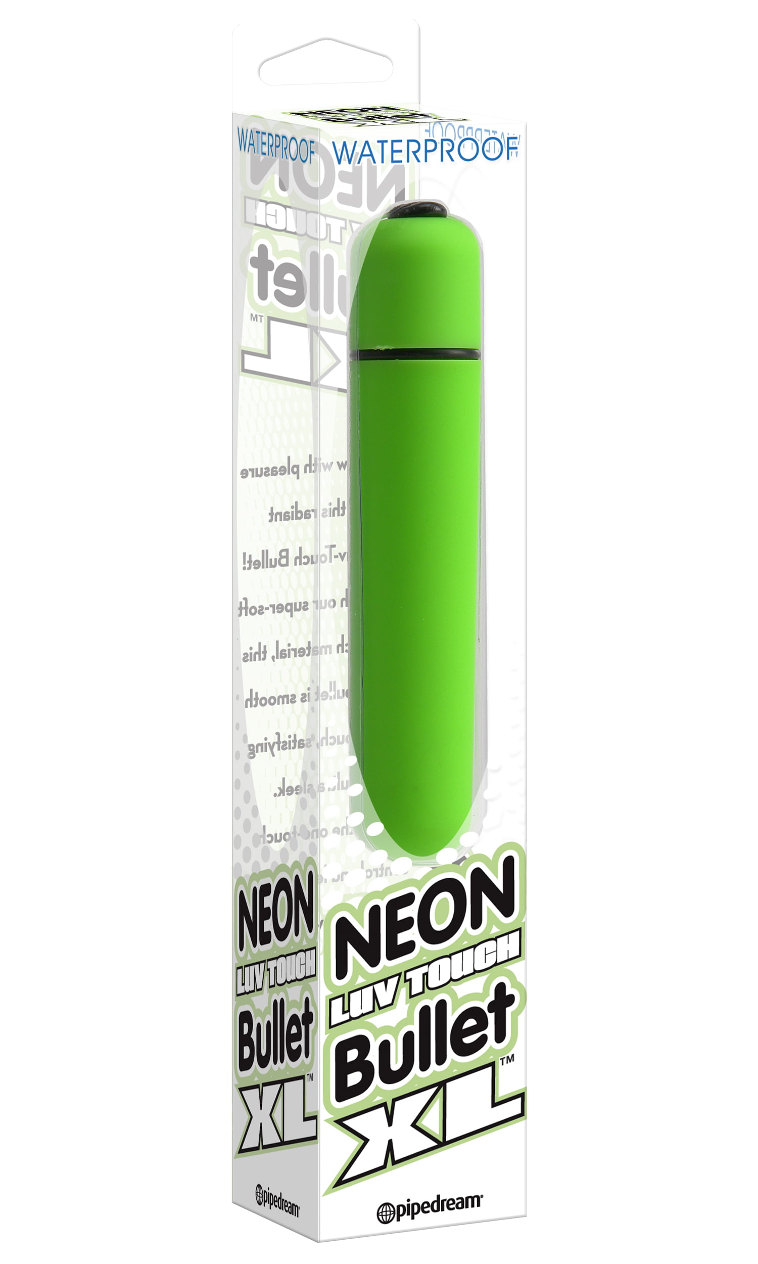 Bullet Neon Luv Touch XL Verde