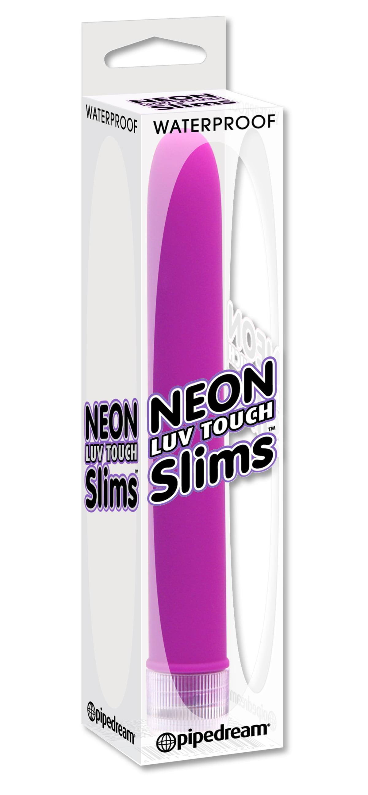 Vibrador Personal Neon Luv Touch Slims Roxo